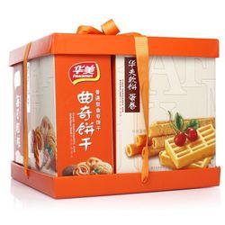 移动端:Huamei 华美 饼干糕点礼盒年货礼盒蛋糕春节大礼包感恩礼富贵呈祥 1098g  39.9元包邮插图